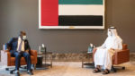 Liberia Minister of Foreign Affairs visits UAE, holds bilateral with Shakhbout Al Nahyan