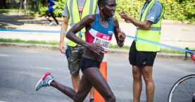 Marathoner Tuliamuk Begs Runners To Run Alone