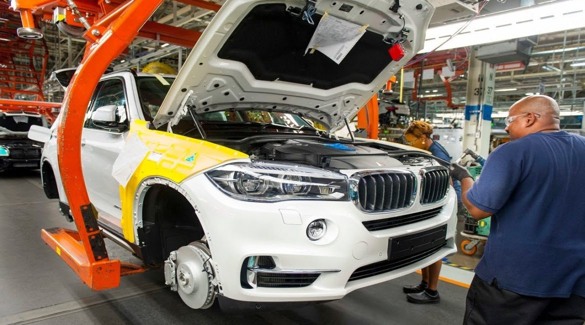 BMW Shuts Down Production at Rosslyn Plant