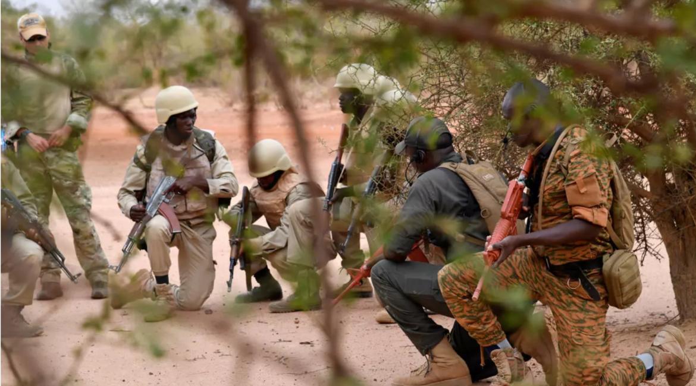 Burkinabé military training