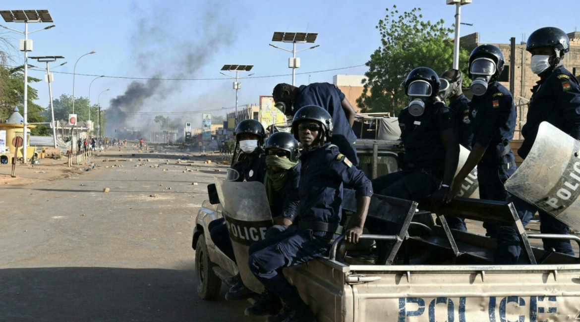 Security forces in Niamey, Niger (AFP)