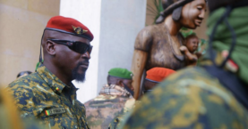 Guinea junta members barred from running for elections
