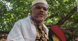 Nigerian separatist leader in custody