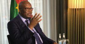 Burkina Faso's President dismisses Defense Minister