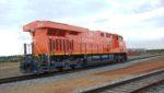 Arcelor Mittal locomotive in Liberia