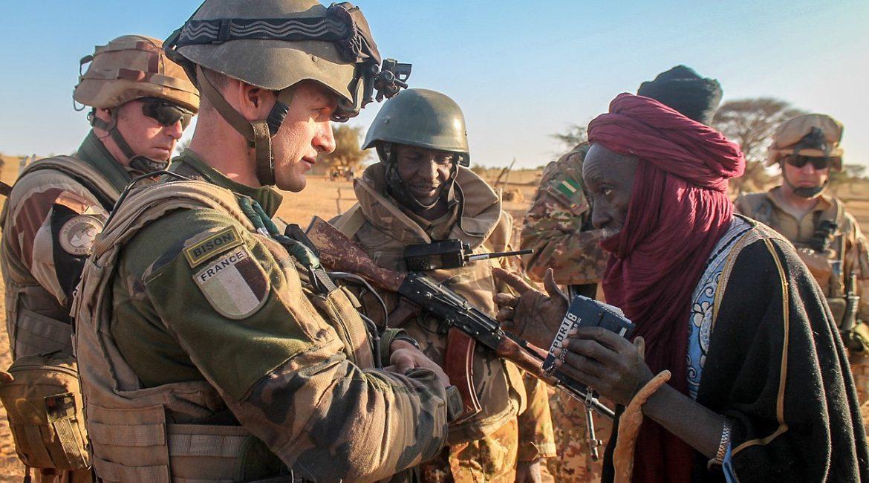 Barkhane operation in Mali
