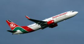 Kenya Airways Flies Domestic After Intl Flight Ban